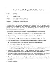 request for proposal template 05 bookkeeping proposal