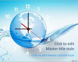 Free Clock Powerpoint Templates