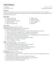52 Best Of Electrical Foreman Resume Samples – Template Free
