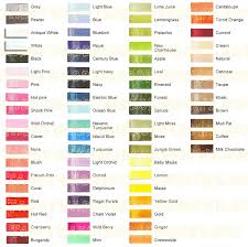 Offray Grosgrain Ribbon Color Chart Offray Solid Color Chart 0 00 Tabby Wabby Hairbow