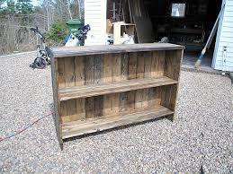 rustic diy furniture. DIY Rustic Bookshelf Diy Furniture A