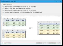 collect data from multiple sheets