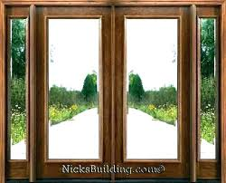 exterior glass front doors modern entry contemporary door post stained double with