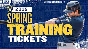 Brewers Spring Training Tickets On Sale Now Cait Covers