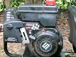 Tecumseh Power Sport 6.5 HP Engine Running
