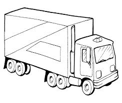 Auto Kleurplaten Vrachtwagen