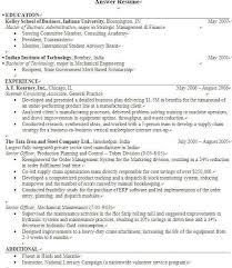 Resume_Checklist with regard to Expected Graduation Date Resume