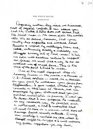 reagan handwritten letter to gorbachev humanities texas digital repository