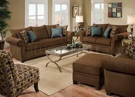 sable brown fabric sofa loveseat set