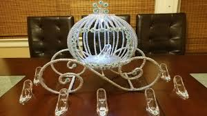 Cinderella Carriage Centerpiece | Princess carriage centerpiece