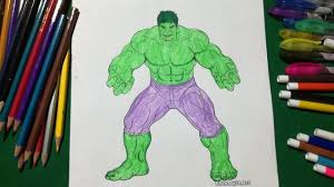 In this video i color in the hulk from the avengers. Hulk Coloring Fun Kids Coloring Book For Kids Learning Colour Sailany Coloring Kids Youtube