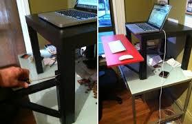 $22 IKEA standing desk.