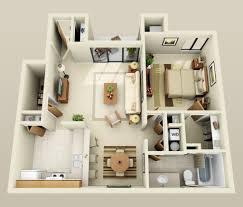 General: Mumbai One Bedroom Apartment - Floor Plans