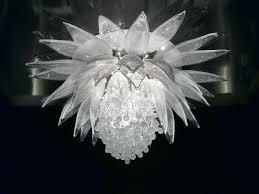 lotus flower chandelier vivaterra by roost large