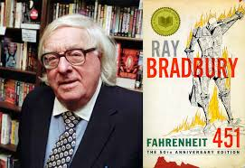 ray bradbury s fahrenheit is released as e book jacket  raybradbury f451