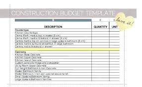 Home Renovation Spreadsheet For Costs Home Renovation Budget Readsheet Template For New
