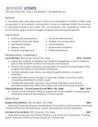 Social Work Resume Sample Classy Social Worker Resume Example Elementary School Children Resume