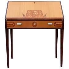 swedish art deco drop front desk by ferdinand lundquist circa 1920 for