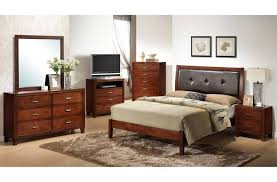 Bedroom: Best Wooden Full Size Bedroom Size With Fine Leather ...