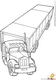 logging coloring pages log truck coloring pages