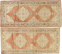 one kings lane pair of antique oushak rugs