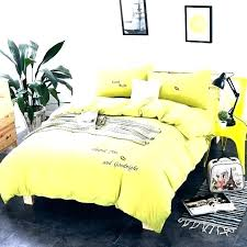 yellow bedding sets duvet covers spring washed cotton princess wind embroidery comforters comforter twin xl green