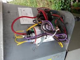 replaced capacitor a c cooled for a few hours then no cool air attached images