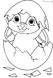 Lapin 32 Animaux Coloriages Imprimer