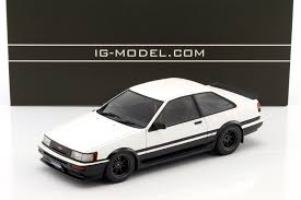 Cool Great Toyota Corolla Levin (AE86) 2-door GT Apex White/Black ...