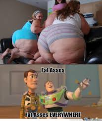 Photos of fat asses