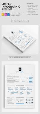 15 Creative Infographic Resume Templates Adobe Illustrator