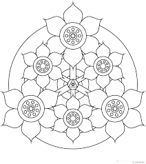 Thanks to visual stimulation, color mandalas encourages kids to create, imagine and find harmony in their emotional disorder. Free Printable Mandalas For Kids Best Coloring Pages For Kids