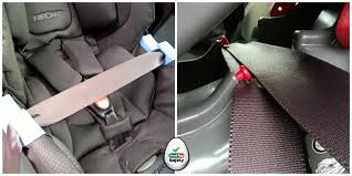 a vast majority of child car seats must be fitted with the 3 point seat belt pull out a length of belt and pass the lap belt through the lap belt