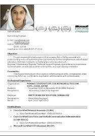 Ccna Resume Sample Inspirational Ccna Resume Examples Free Career