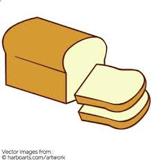 loaf of bread vector. Interesting Vector Drawing Of A Loaf Bread With Two Cut Slices Intended Loaf Of Bread Vector