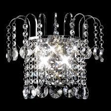 rosina crystal chandelier wall light 0