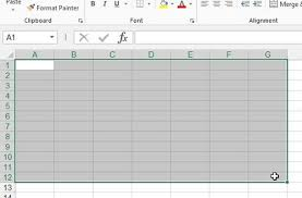 Height Chart Blank How To Print A Blank Spreadsheet In Excel 2013 Solve Your Tech