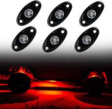 Led Undercarriage Truck Lights Amazon Com Red Rock Lights 2inch Led Underglow Neon Lights