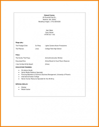 Beginner Resume Template Excellent Ideas Entry Level Resume Examples ...