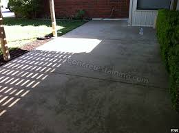 stained concrete patio gray. Stained Patio Befor Concrete Gray