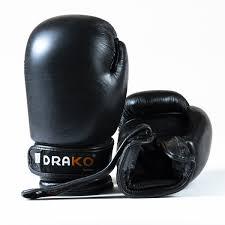 drako leather boxing glove