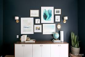 how to properly hang art on your wall diy playbook