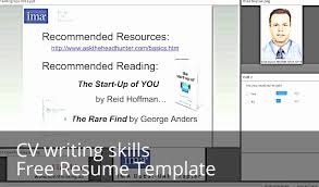 How To Choose A Good Chronological Resume Template Youtube