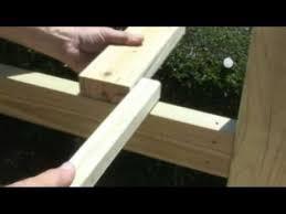 How to build a deck video Steps Youtube How To Build Deck Railings Deckscom Youtube