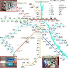 delhi map  delhi metro lines  stations  public transport rail