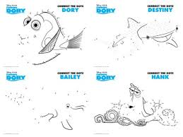 Small Picture Free Printables Finding Dory Coloring Pages and Activity Sheets