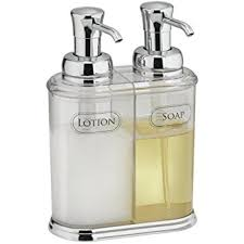 hand wash soap dispenser.  Wash MDesign Refillable Soap Dispenser Duo  Double Pump Hand  Wash Made On N