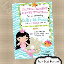 mermaid pirate birthday party invitations birthday party dresses extraordinary diy little mermaid party invitations