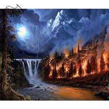 Scenery Painting – Inlovearts