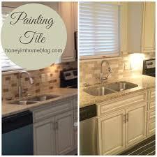 100 painting kitchen backsplash diy painting a ceramic tile backsplash granite countertop
